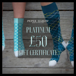 Peper Harow £50 gift card Platinum