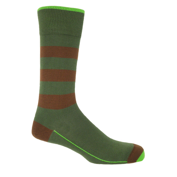 Ribbon Men's Socks - Forest