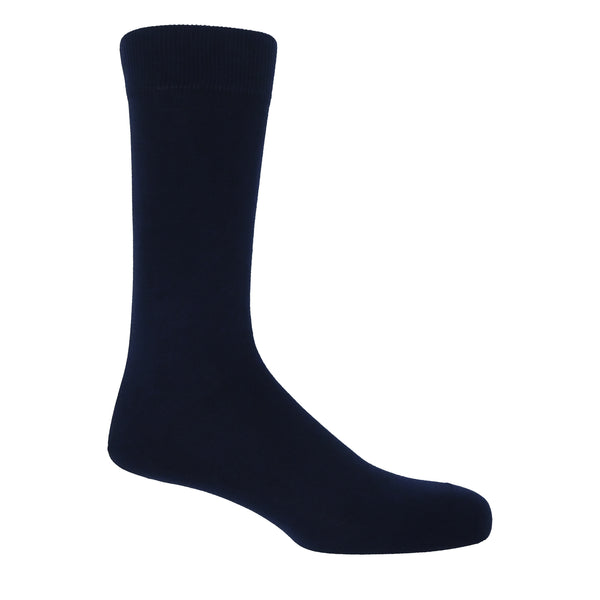 Classic Royal Navy Luxury Men's Socks