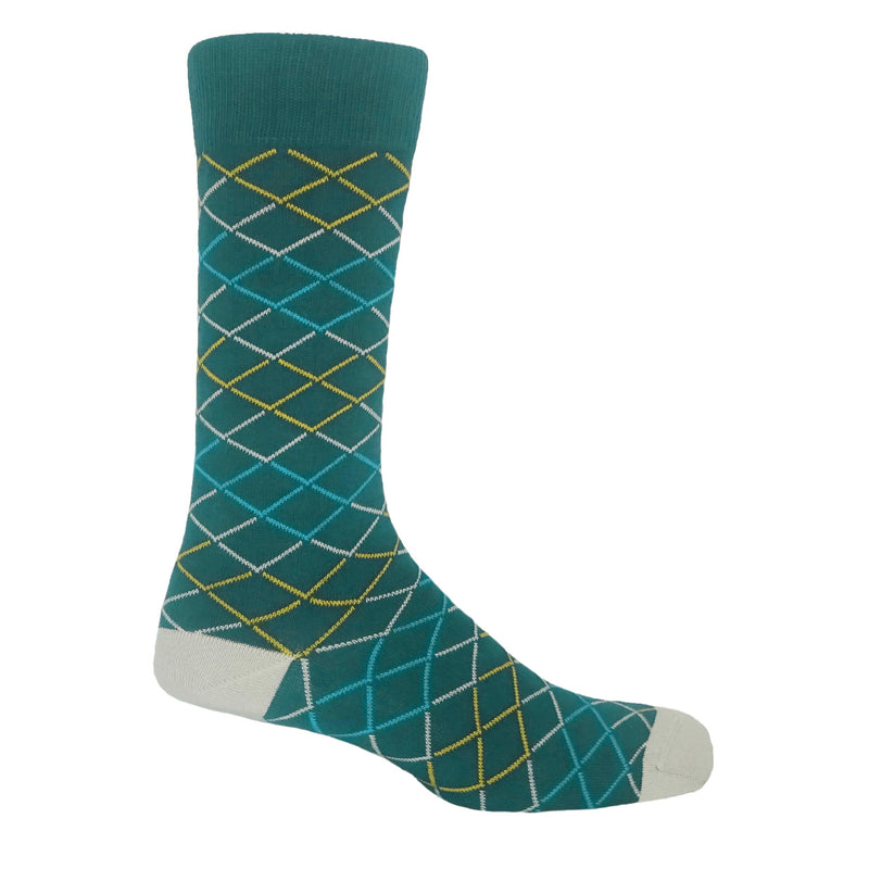 Hastings Men's Socks - Sea Green
