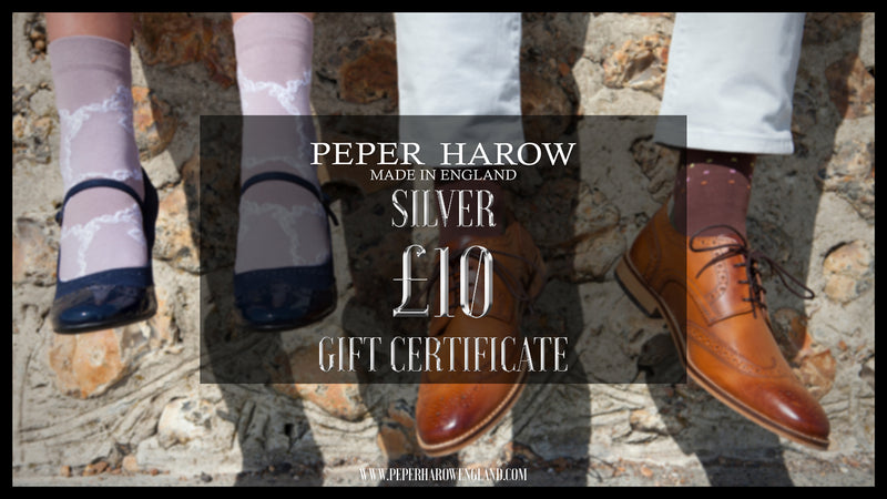 Peper Harow £10 Gift Card Silver