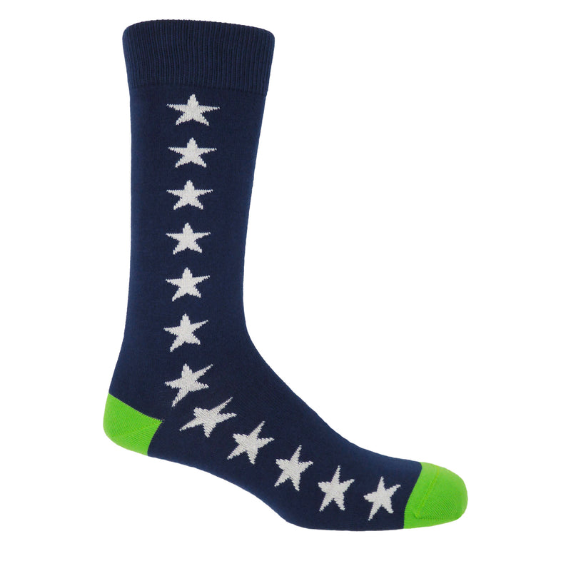 Starfall Men's Socks - Royal Blue