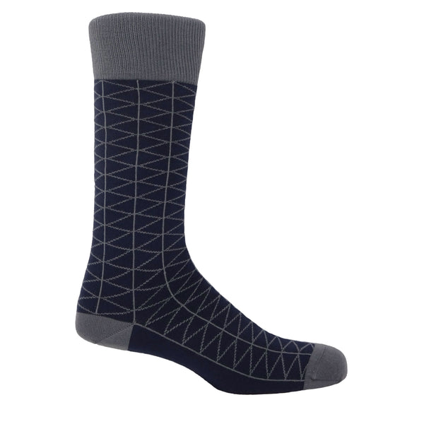 Tritile Men's Socks - Navy