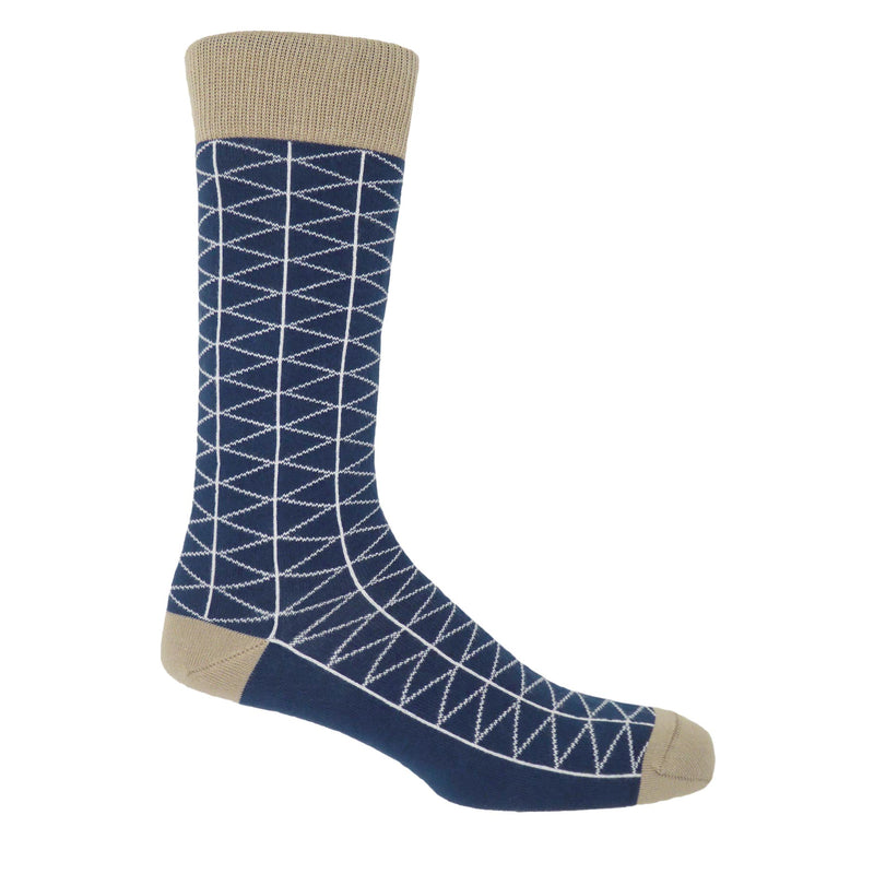 Tritile Royal Blue Luxury Men's Socks