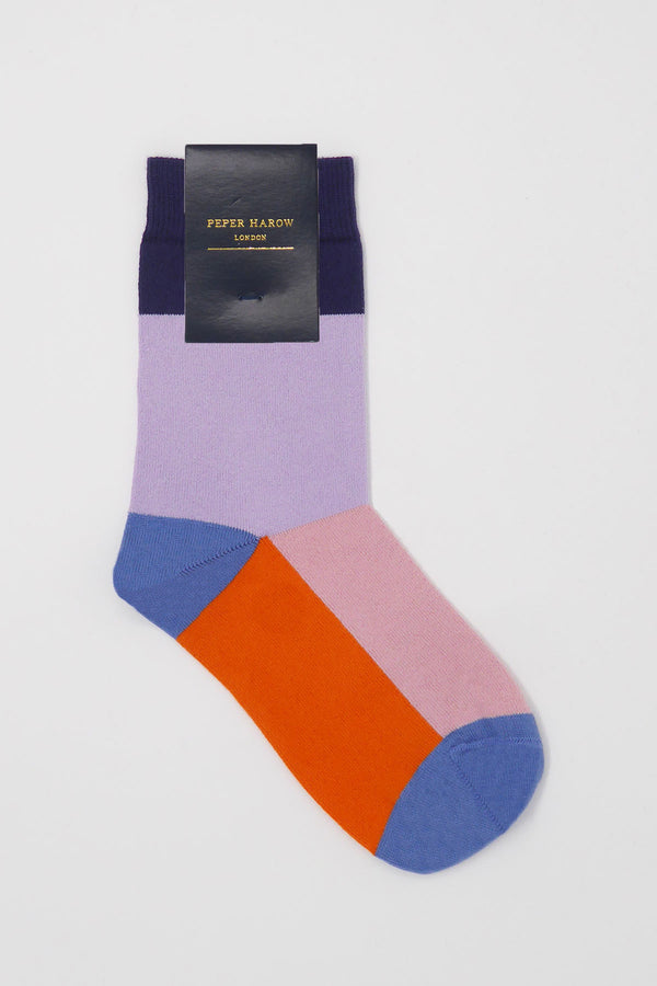 Lavender Victoria Ladies Luxury Socks