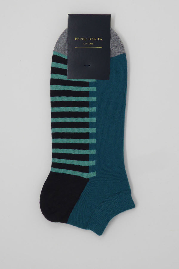 Welford Deep BLue Luxury Men's Socks