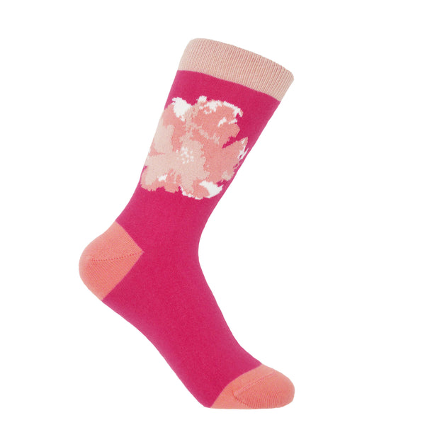 Wild Flower Women's Socks - Rose