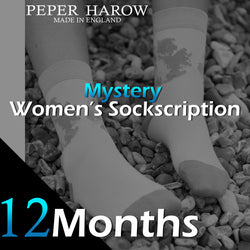 12 Month Mystery Women's Sockscription