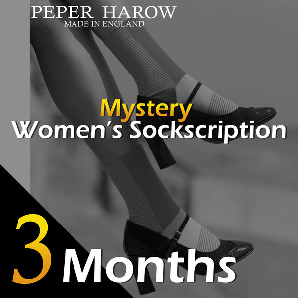 3 Month Women's Mystery Sockscription