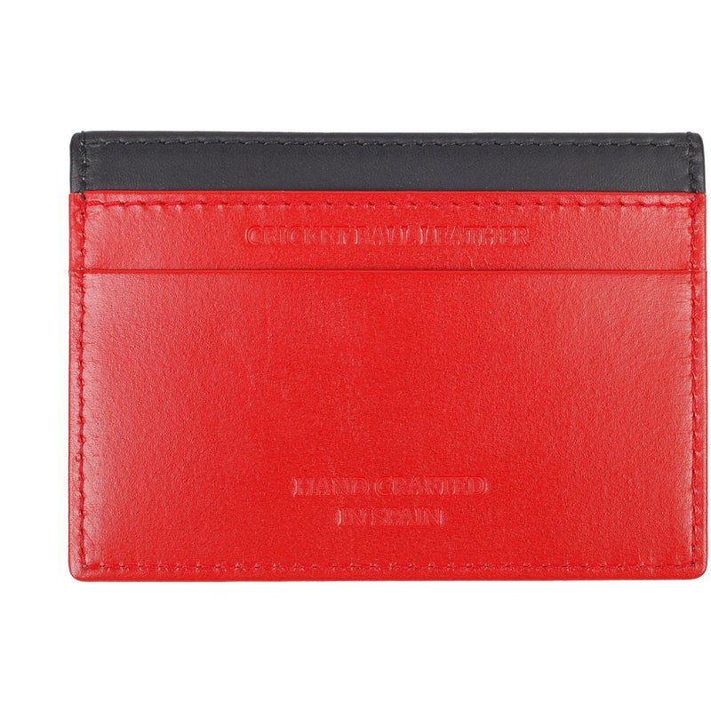 Black Business 3 Card Men's Leather Wallet