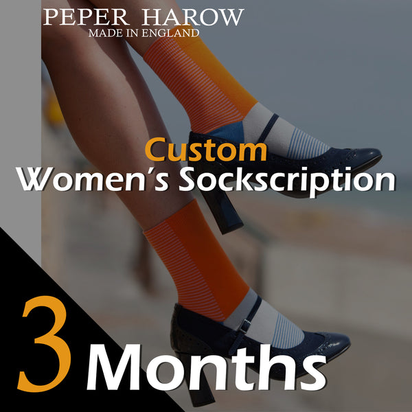 3 Month Women's Custom Sockscription