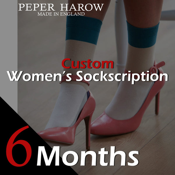 6 Month Women's Custom Sockscription