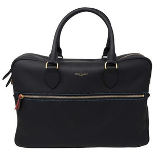 Black Business Leather Men's Bag