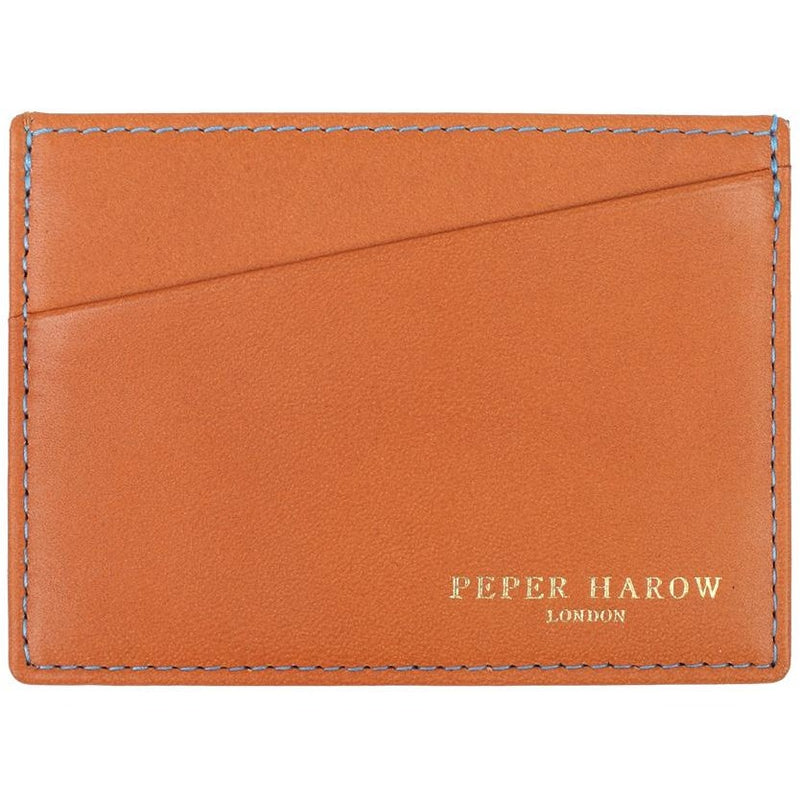 Tan Business 3 Card Men's Leather Wallet