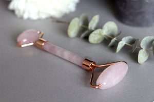 Rose Gold Quartz Roller