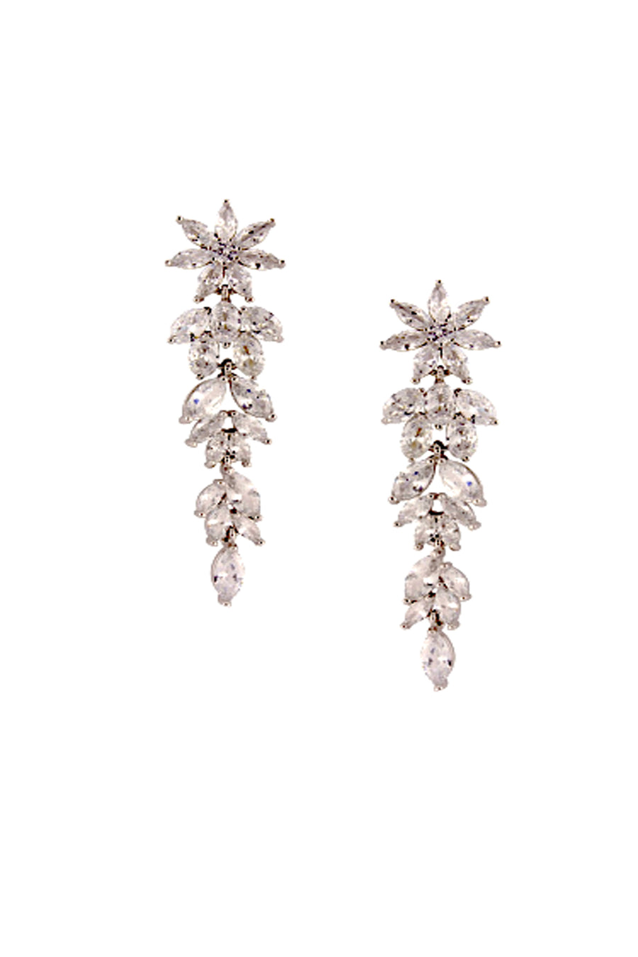 Dazzling Comet Tail Earrings