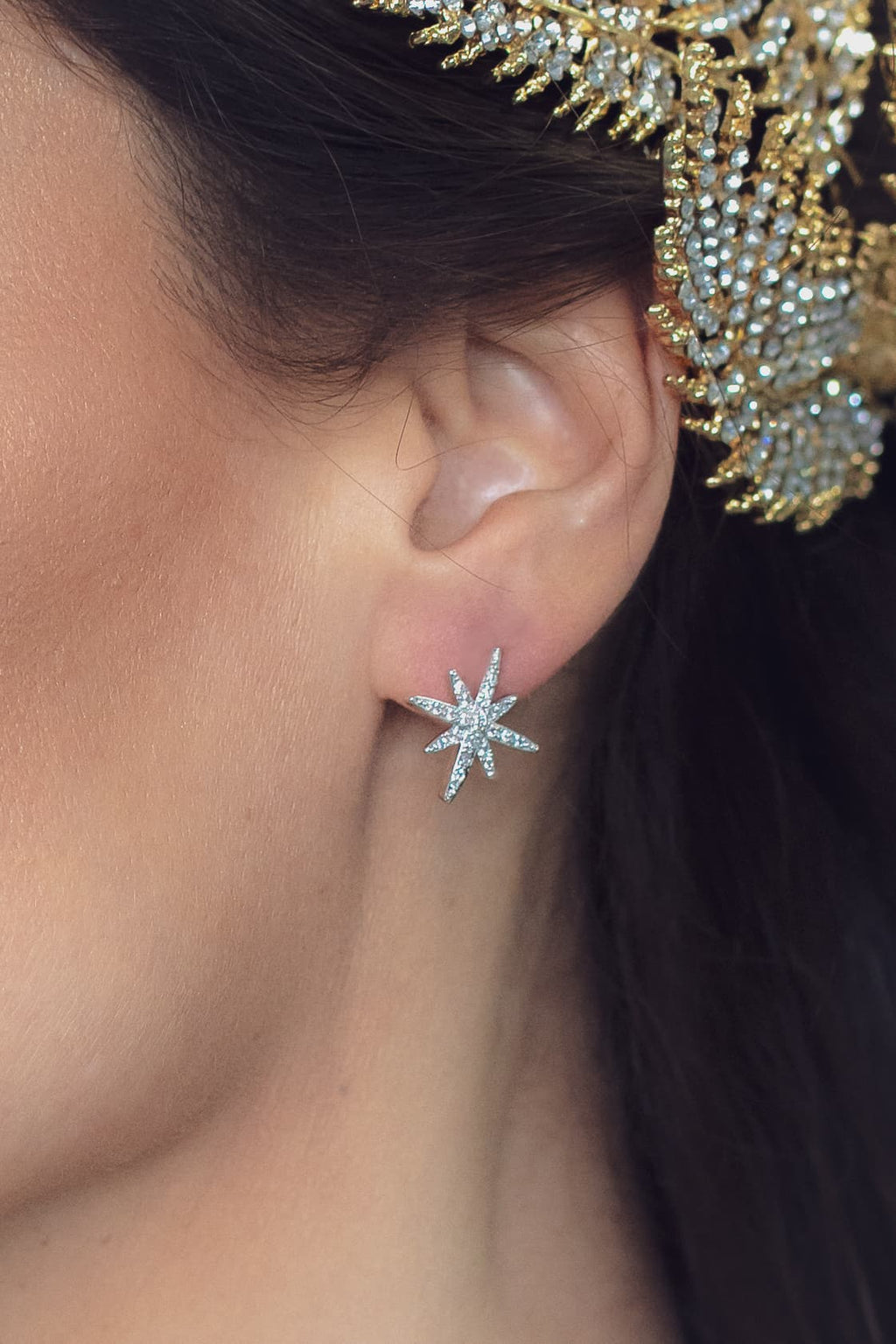 Cèline Starburst Earrings