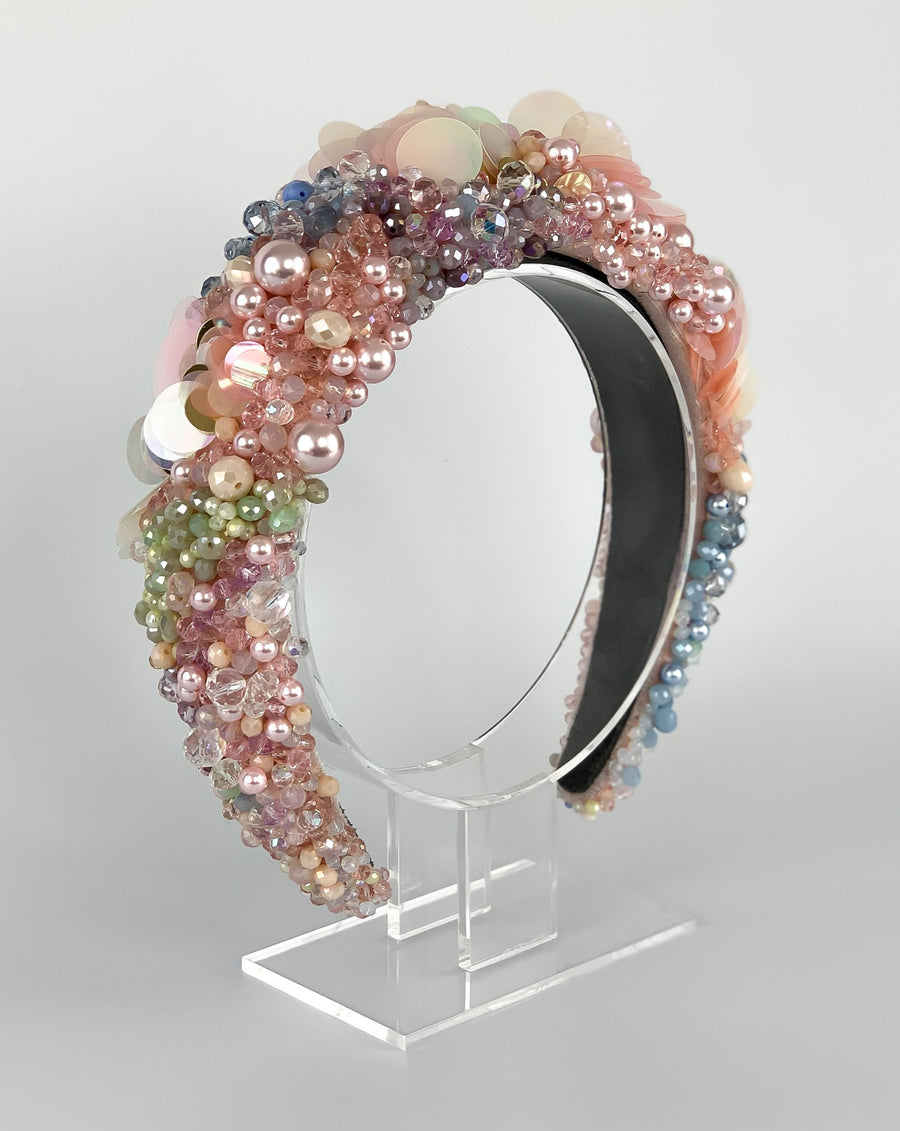 Semi-precious Rainbow Halo