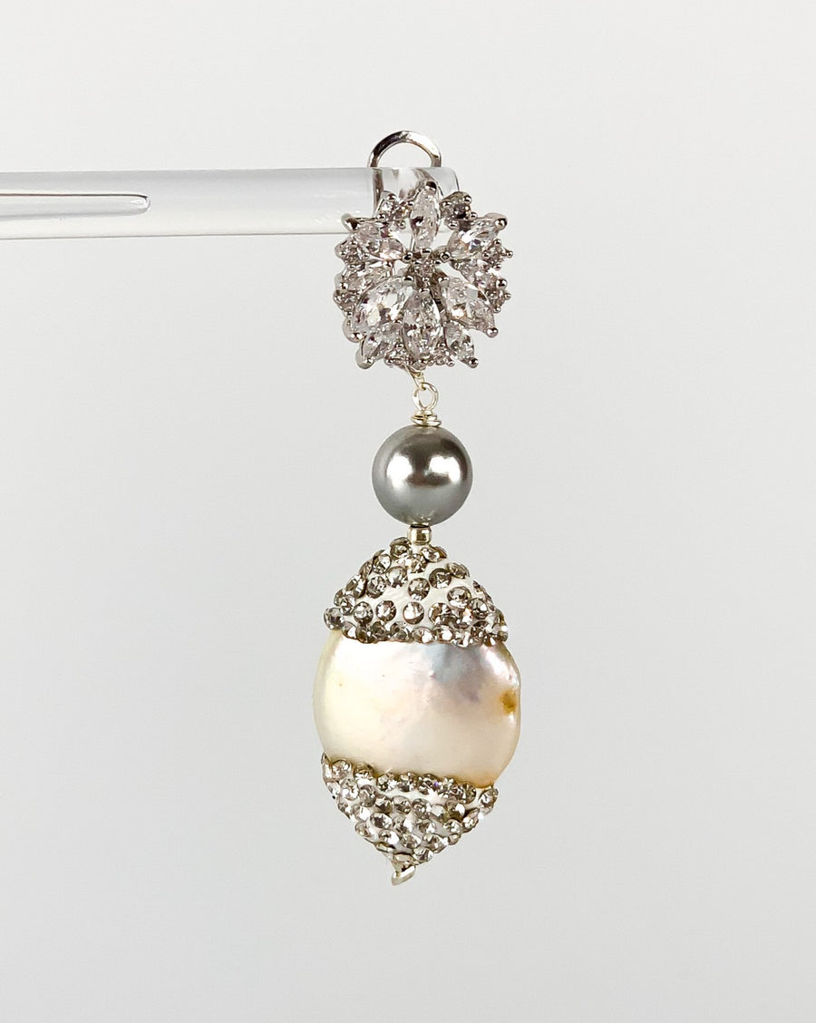 Baroque Encrusted Pearls
