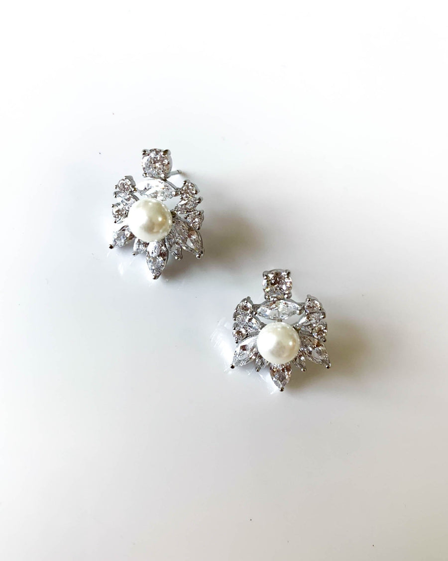 Prickly Pearl Earrings
