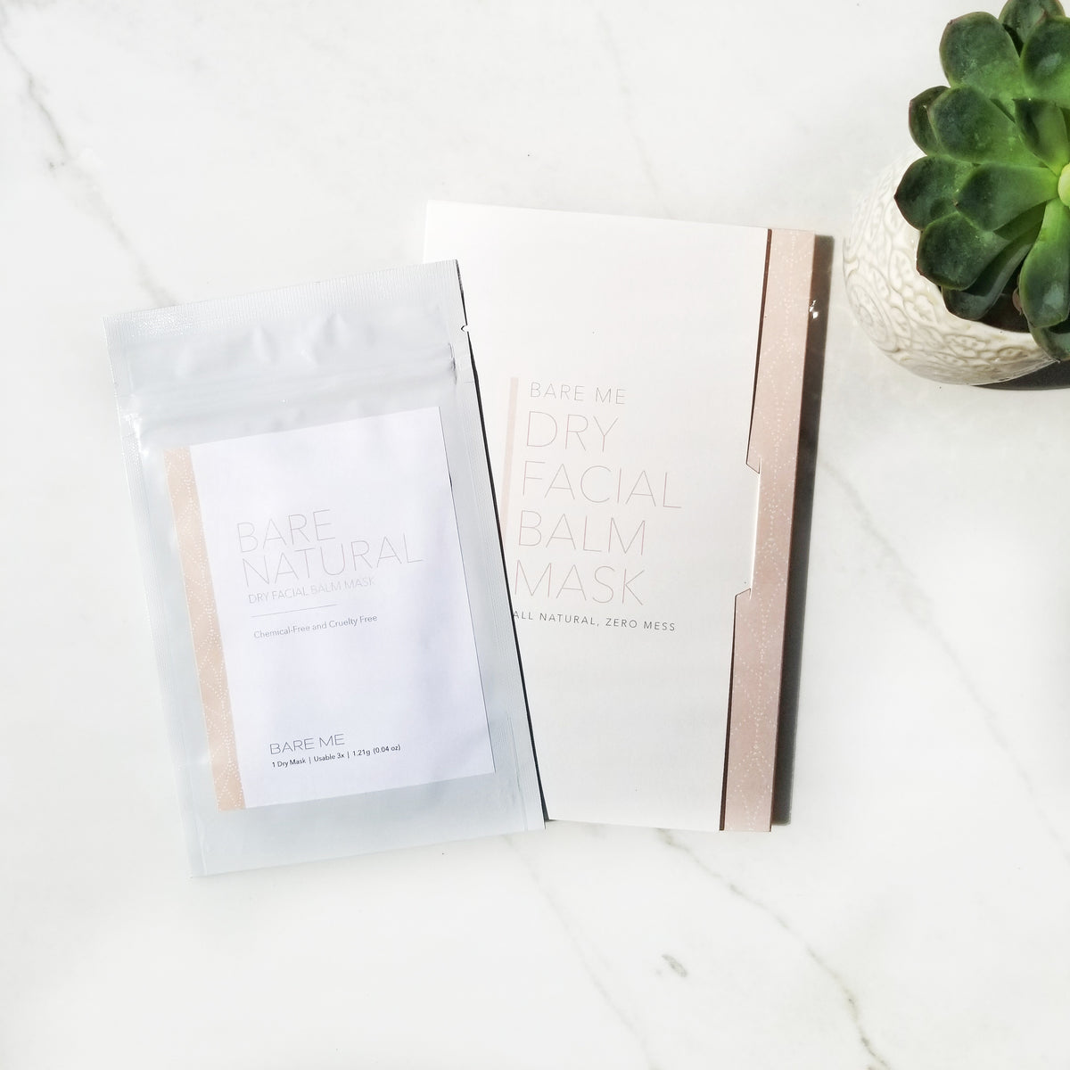 Bare Me Dry Sheet Face Mask