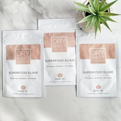SUPERFOOD ELIXIR - Dry Sheet Face Mask