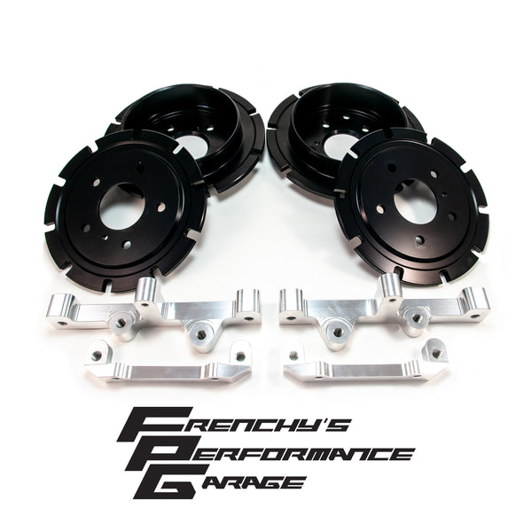 Nissan Skyline R32 R33 R34 GT-R R35 Brembo Brake Adapter kit Nismo Omori Fitment