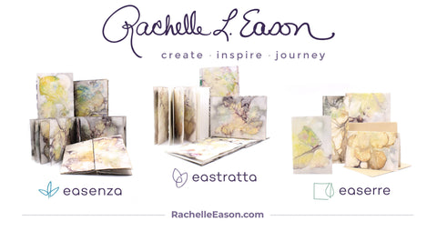 Rachelle Eason Eco-Stained Paper Collections Launch Press Release