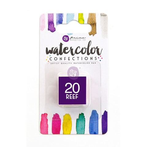 20 Reef - Refill Pan - Watercolor Confections Set by Art Philosophy - Prima Marketing