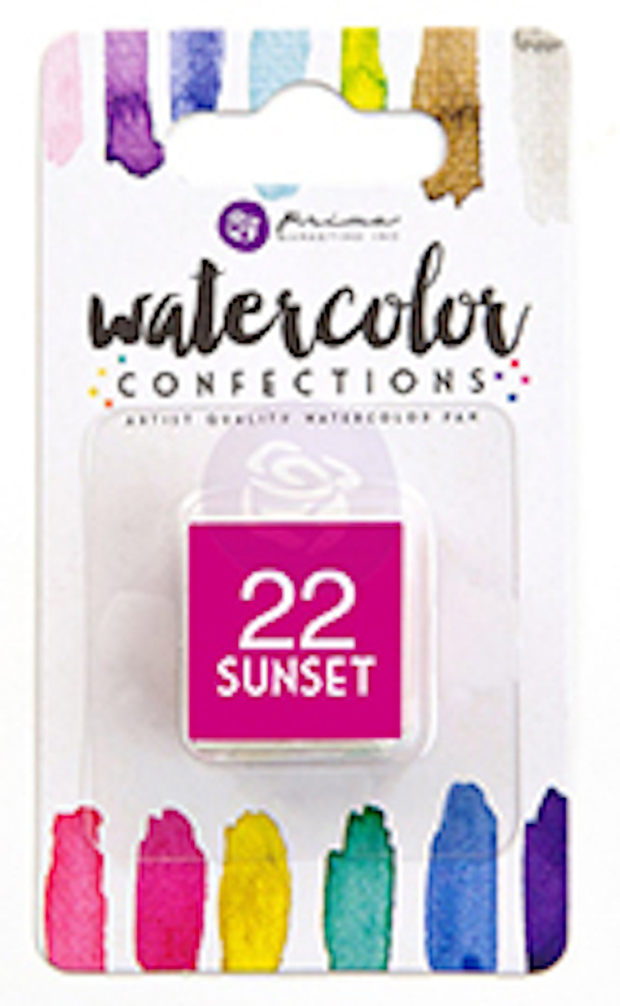 22 Sunset - Refill Pan - Watercolor Confections Set by Art Philosophy - Prima Marketing