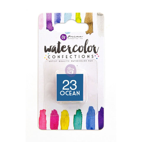 23 Ocean - Refill Pan - Watercolor Confections Set by Art Philosophy - Prima Marketing