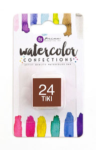 24 Tiki - Refill Pan - Watercolor Confections Set by Art Philosophy - Prima Marketing