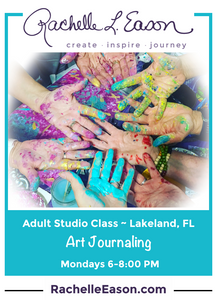 Journaling with Art & Words Studio Classes -  Monday Evenings