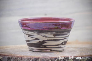 Ruby Sunset (Deep Earth Clay) 16 oz Bowl - Ceramic Pottery - Glazed Stoneware