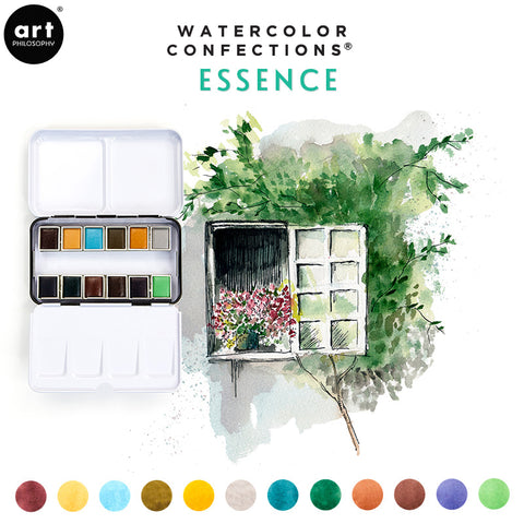 Essence - Watercolor Confections Set by Art Philosophy - Prima Marketing