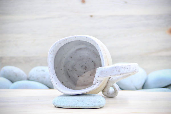 Sea Salt Mug Tea Cup - Ceramic Pottery - Glazed Stoneware