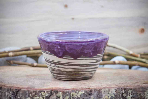 Boho Plum (Deep Earth Clay) 18 oz Cereal Bowl - Ceramic Pottery - Glazed Stoneware