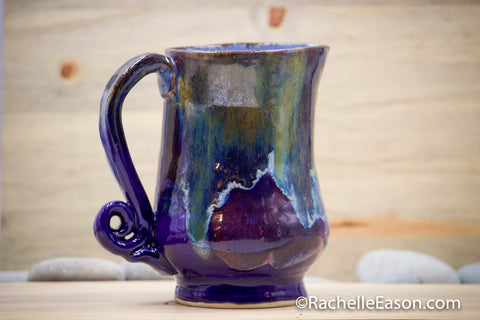 Blue Galaxy Pitcher - Ceramic Pottery - Glazed Stoneware