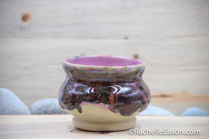 Pink Enchantment Bowl 16 oz- Ceramic Pottery - Glazed Stoneware