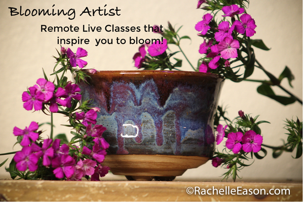 Art Journaling - Live Remote Online -  Monday Evenings