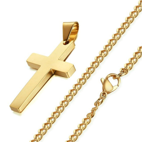 Colar Crucifixo - PRESENTE DO DIA