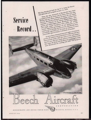 "Beechcraft Model 18 ""Twin Beech"" - Hamilton Standard 6167A-15"