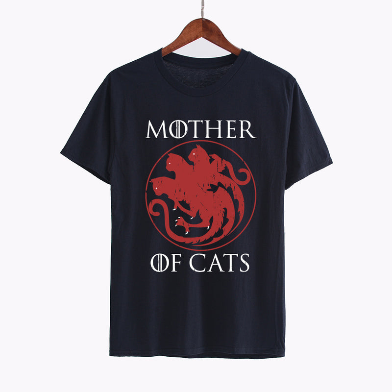 "T-shirts ""Mother of cats"" pour femmes"