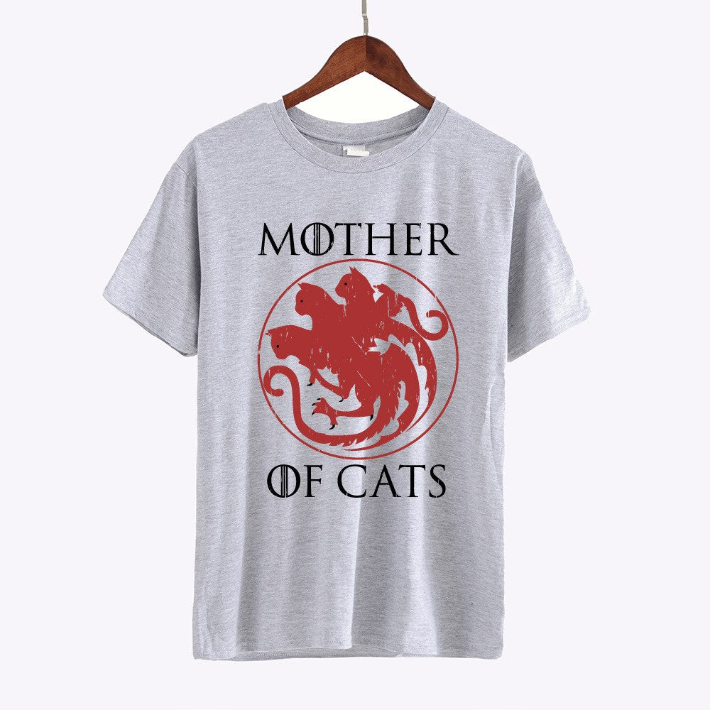 "T-shirts ""Mother of cats"""