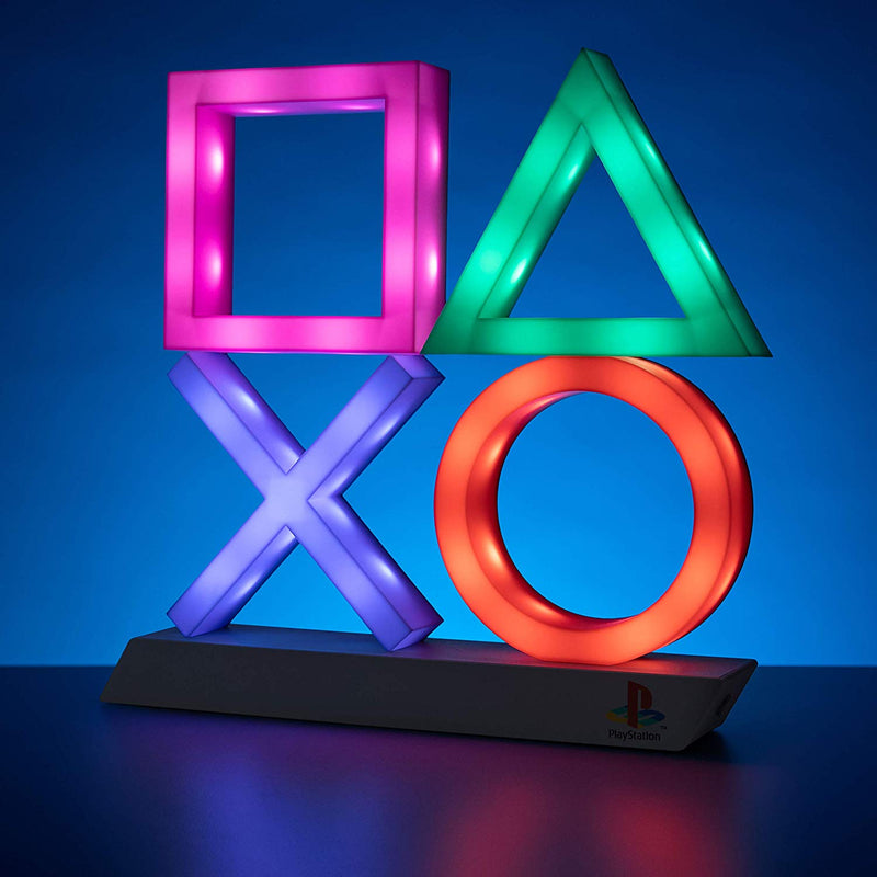 Lampe XL Symboles Playstation