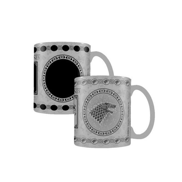 Mug Game of Thrones thermoréactif Maison Stark