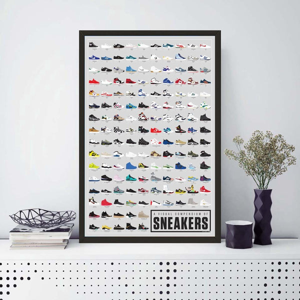 Affiche Collection de sneakers
