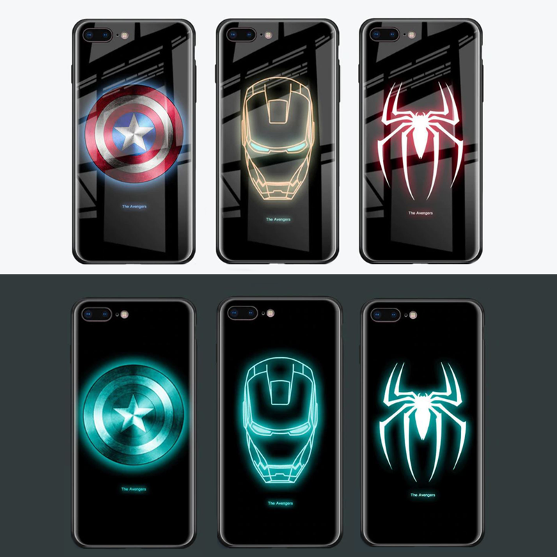 coque lumineuse marvel iphone xs max
