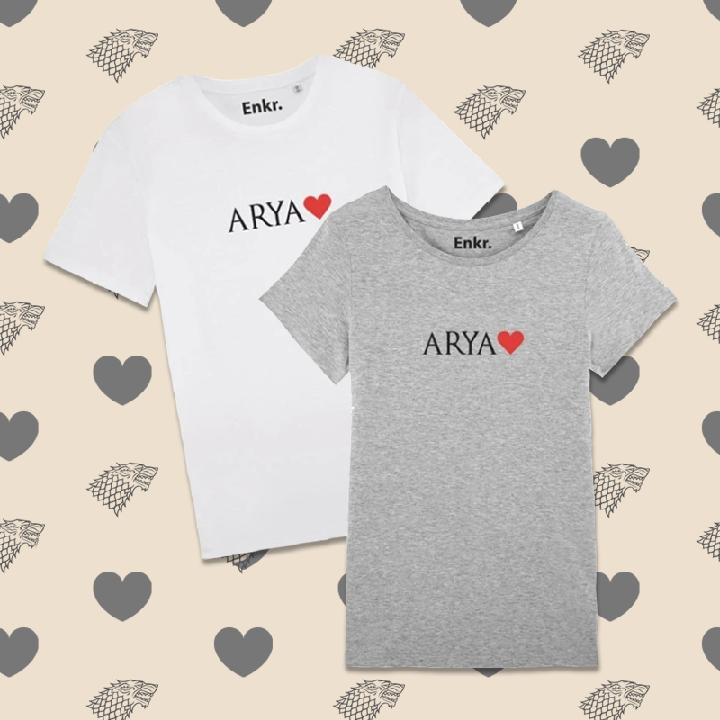 T-shirts Arya Love - H/F