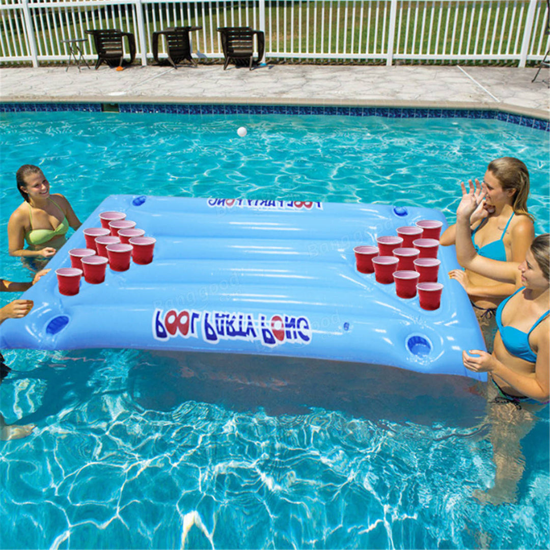 "Matelas gonflable ""Beer Pong"""